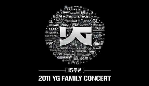 Big Bang Set List of Performances @ YG Family Concert 2011 ...