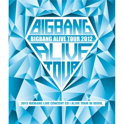 BB alive tour in seoul album cover